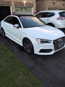 2016 Audi S3 Sedan Technik Package Lease Take Over