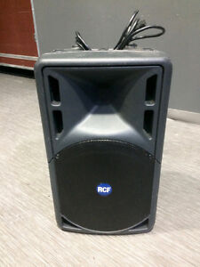 """Great Powered Speakers.  RCF ART312a (480W, 12"""")"""