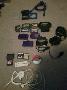 Miscellaneous Gameboy Color, Advance, DS Games and gear