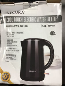 New Secura Cool Touch Electric Water Kettle