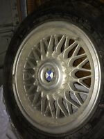 Bmw 5 series Honeycomb rims