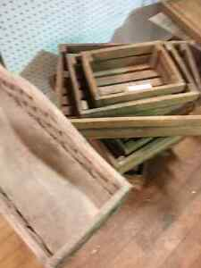 Hand crafted wooden stars, crates, ladders furniture & more  Stratford Kitchener Area image 2