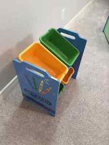 CRAYOLA STORAGE BIN RACK Windsor Region Ontario image 2