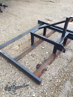 Land leveler - 3 pt hitch tractor