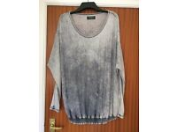 All Saints grey jumper top 8