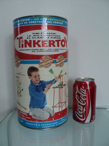 2 VINTAGE HASBRO THE CLASSIC TINKERTOY CONSTRUCTION SETS Cornwall Ontario image 8