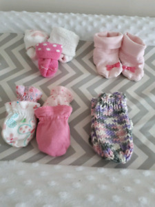 Baby girl clothing/blanket lot
