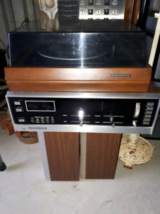 Vintage Panasonic stereo system