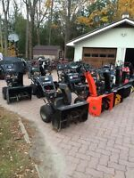 Get a used snowblower ready for winter