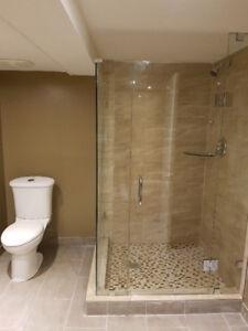 Installation portes de douche / Shower doors installations