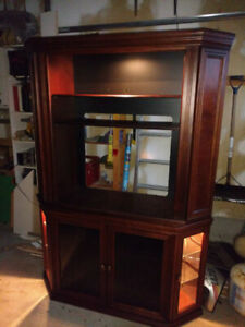 TV Entertainment Corner Stand / Unit