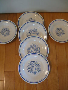 SIX PC. of ODD OXFORD DINNERWARE REPLACEMENTS