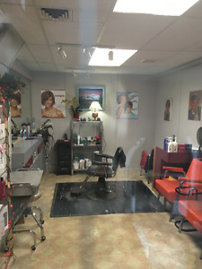 small hair salon available for lease in Trail, BC