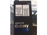 Brand new Samsung Galaxy S7 Edge 32GB LIMITED EDITION - SILVER Platinum