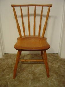 (2) Sherbrooke Village Hand Made Child Size Chairs
