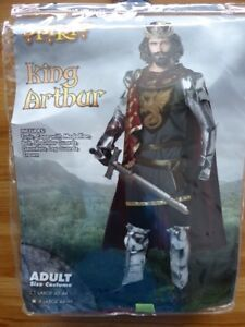 King Arthur Halloween Costume Adult