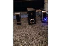 Logitech high power speakers