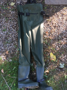 Chest Waders size 11 (2 pairs)