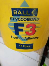 Styccobond f3 flooring adhesive