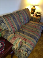 Bedford Interiors Sofa and Love Seat