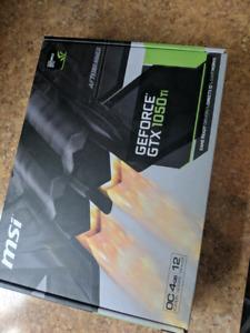 Gtx 1050 Ti 4gb GPU