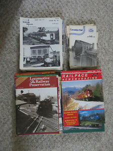 50 Assorted Train and Railroad Magazines For Sale   $20 OBO