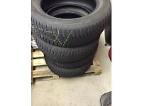 4xWinter tires - Good Year Ultragrip 205/55/R16/91H