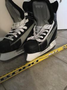 Patins et hockey
