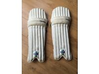 Set of Gunn & Moore pads and gloves