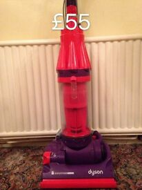 DYSON DC07 FULLY SERVICED MINT CONDITION FREE SET OF PERFUMED FILTERS RED AND PURPLE 2