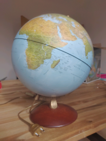 Globe with light inside Nova Rico