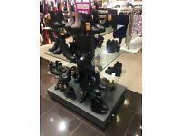 4 tier shop display stand