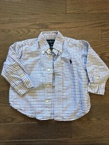 Boys Polo Ralph Lauren Shirt- size 18 month- $12