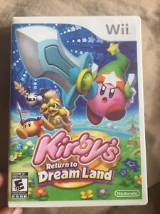 Kirby return to dreamland wii