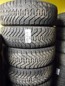 GOODYEAR NORDIC SNOW TIRES 215-65-16 $300 INSTALLED