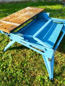 Black and Decker workmate folding portable workbench