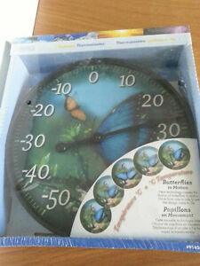 """Springfield 12"""" Outdoor Thermometer - New & Sealed in box"""