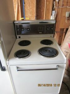 Used Hotpoint Fridge and Danby Stove Excellent condition