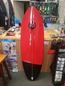 5'4 little summer fun surfboard $290 Hybrid surf board