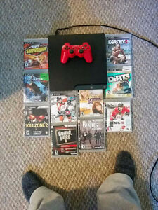 Ps3 with 9games