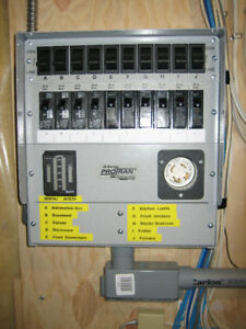 Transfer Switch for Generator . Reliance Q310A Pro / Tran.
