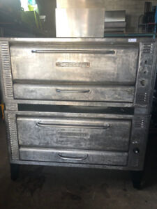 DOUBLE DECK PIZZA OVEN FOR SALE