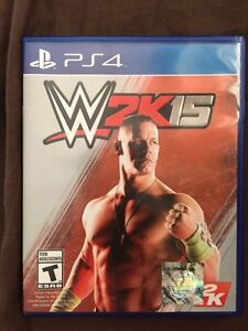 WWE 2k 15 ps4 game