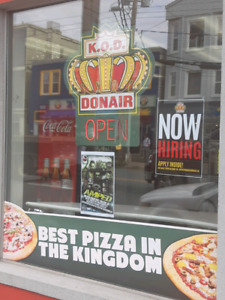 Pizza and Donair Cook