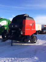 Used Kuhn VB2190 Silage Baler, 2,800 Bales Only
