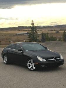 2008 Mercedes CLS 550 AMG-Sport Black