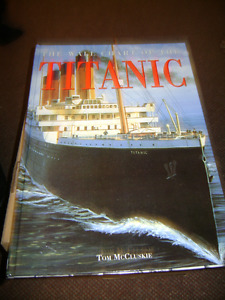 WALL CHART OF THE TITANIC