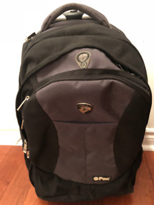 Heys Rolling Backpack with laptop compartment