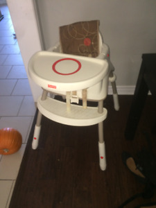 Toddler fisher price High chair