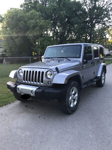 2014 Jeep Wrangler Sahara Unlimited (Trade or Cash)